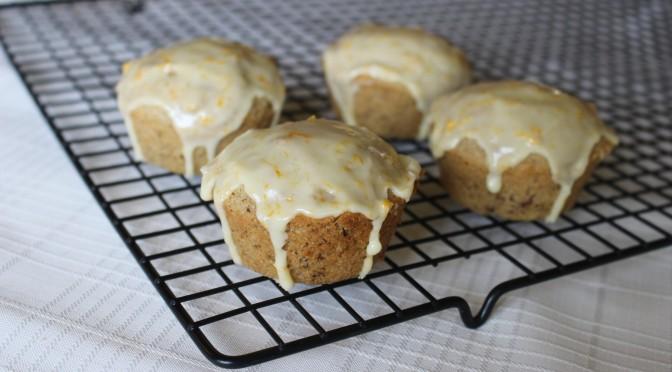 Orange-Walnut Muffins Gluten-free